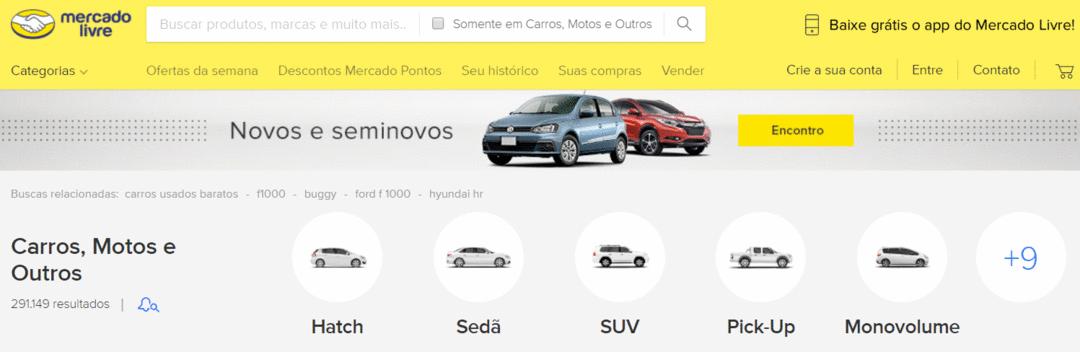 Como escolher um Site de Anúncio de Veículos?