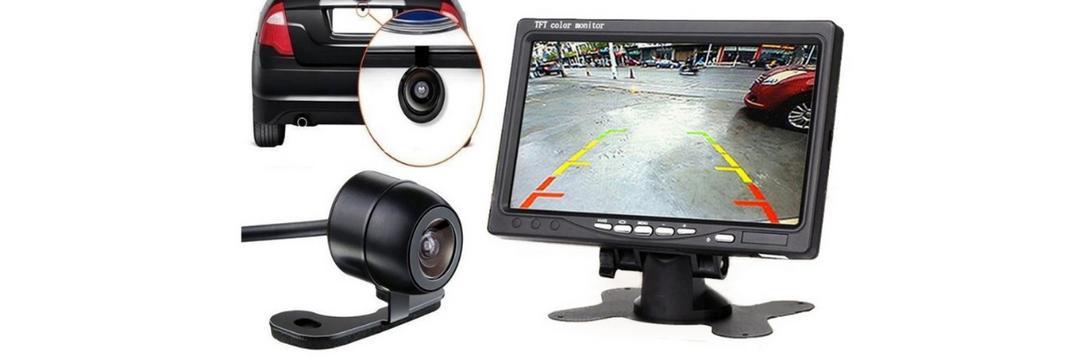 Qual a melhor câmera de ré portátil?