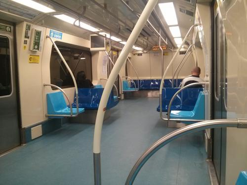Transporte sobre trilhos de São Paulo em tempo real