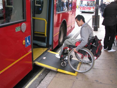 Acessibilidade para cadeirantes